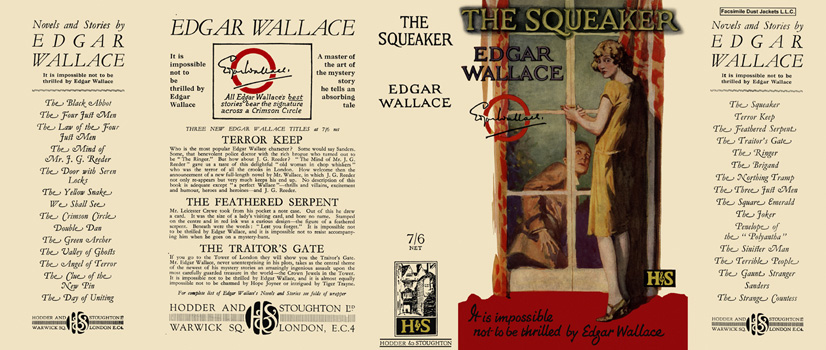 Squeaker, The. Edgar Wallace