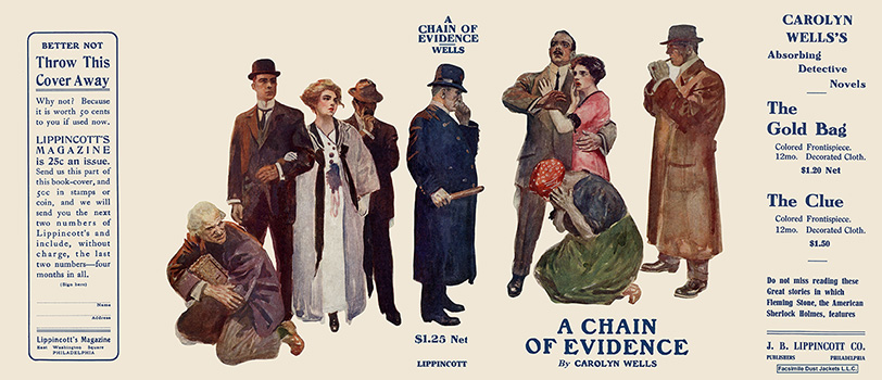 Chain of Evidence, A. Carolyn Wells.