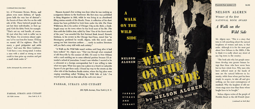 Walk on the Wild Side, A. Nelson Algren.