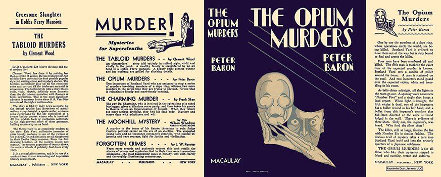 Opium Murders, The. Peter Baron
