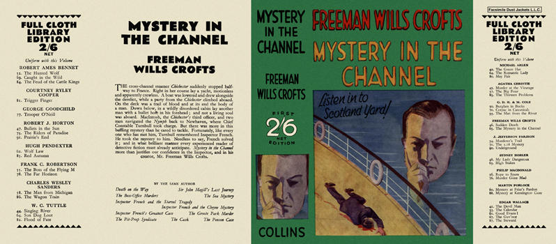 Mystery in the Channel. Freeman Wills Crofts.