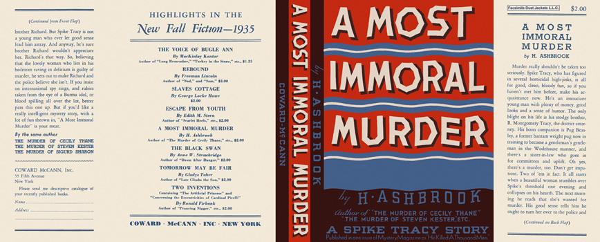 Most Immoral Murder, A. H. Ashbrook