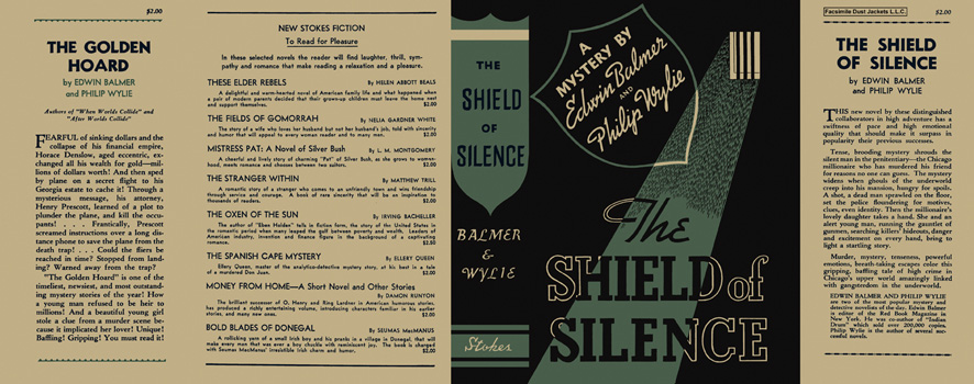 Shield of Silence, The. Edwin Balmer, Philip Wylie.