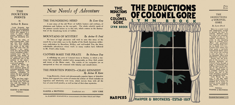 Deductions of Colonel Gore, The. Lynn Brock.