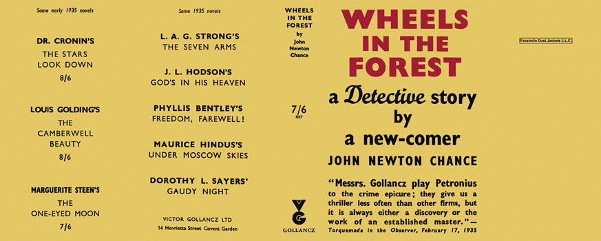 Wheels in the Forest. John Newton Chance.