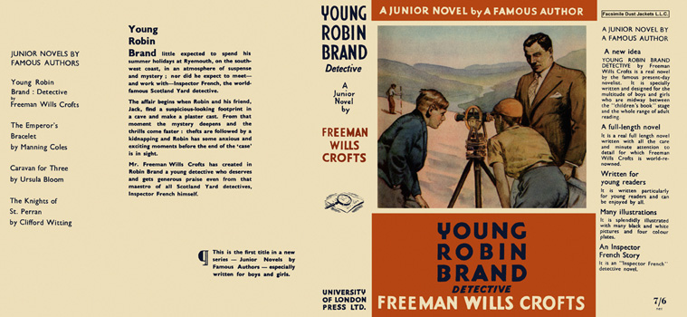 Young Robin Brand Detective: A Junior Novel. Freeman Wills Crofts