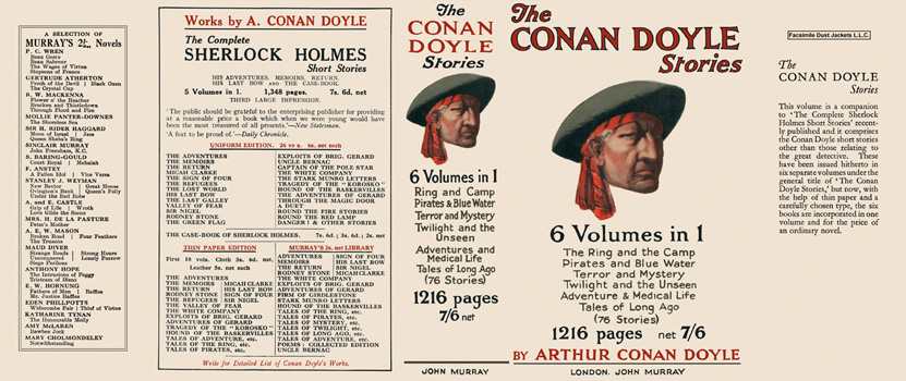 Conan Doyle Stories, The (6 Volumes in 1). Sir Arthur Conan Doyle