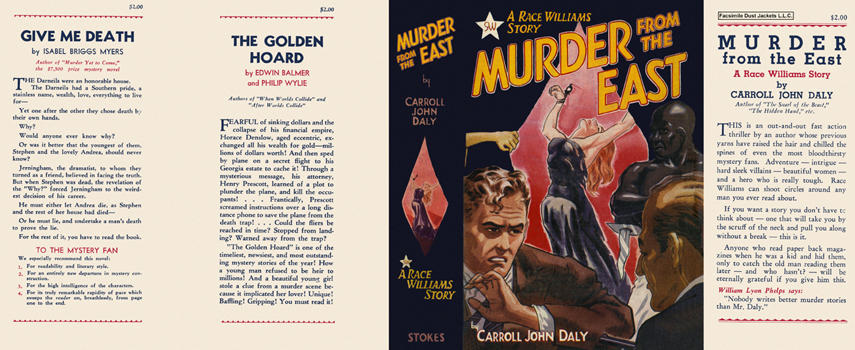 Murder from the East. Carroll John Daly.
