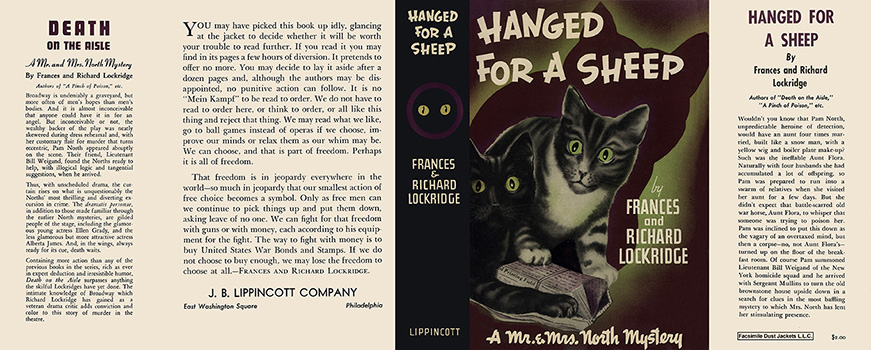Hanged for a Sheep. Frances Lockridge, Richard Lockridge
