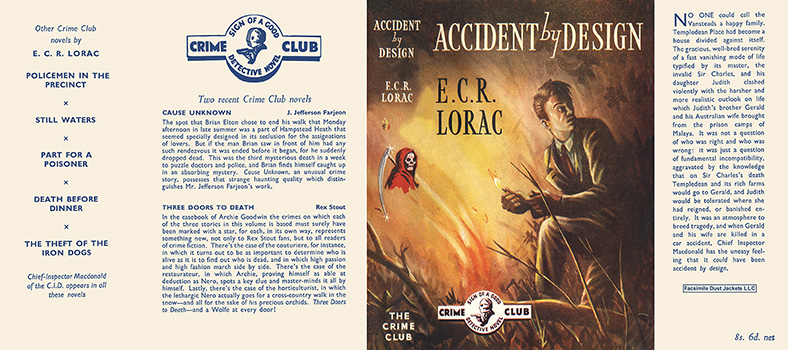 Accident by Design. E. C. R. Lorac.