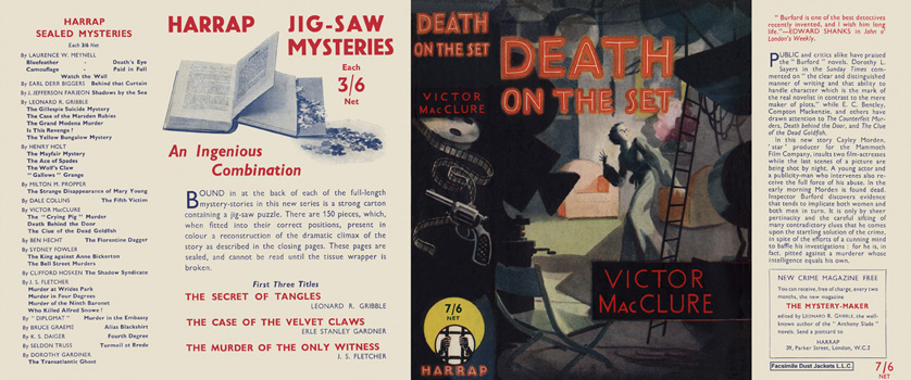 Death on the Set. Victor MacClure
