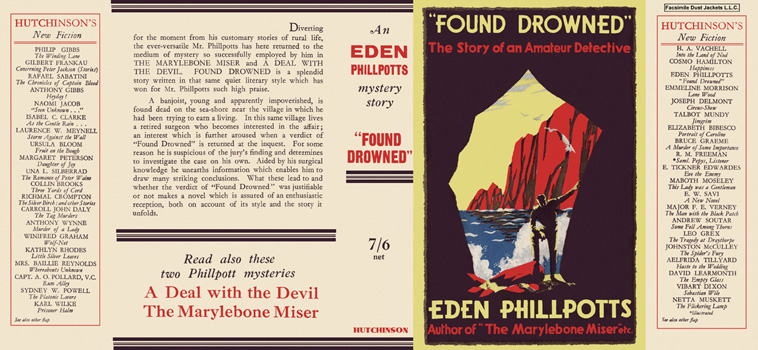 """Found Drowned"" Eden Phillpotts."
