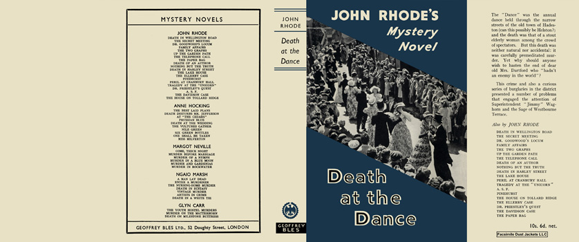Death at the Dance. John Rhode