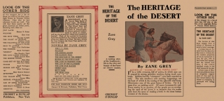 Heritage of the Desert, The